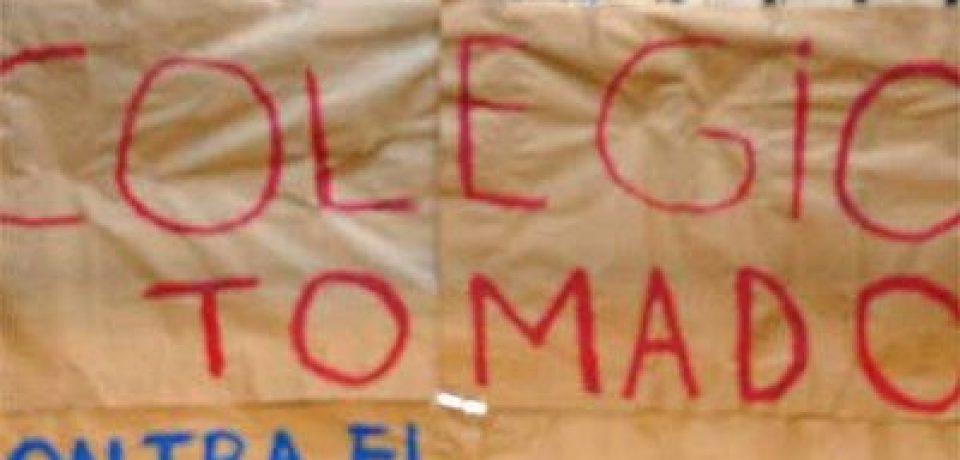 COLEGIOS TOMADOS TENDRÁN CLASES HASTA FEBRERO
