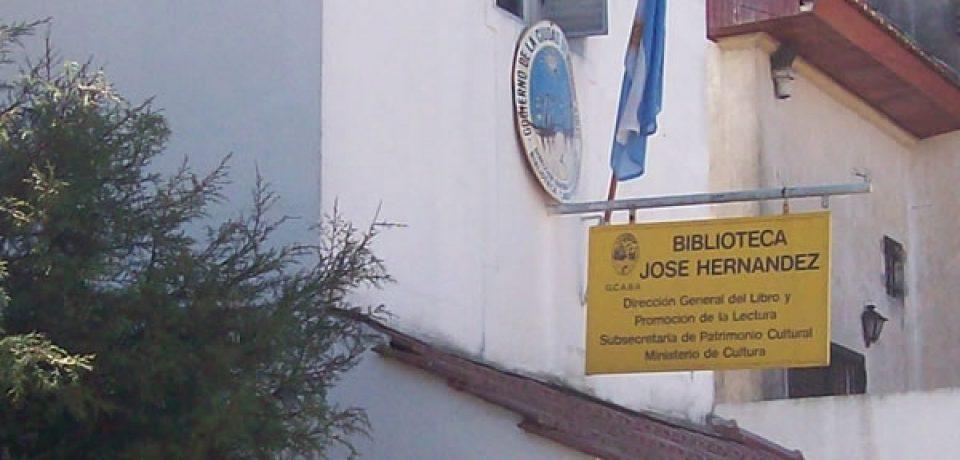 LOS 70 AÑOS DE LA BIBLIOTECA JOSÉ HERNÁNDEZ