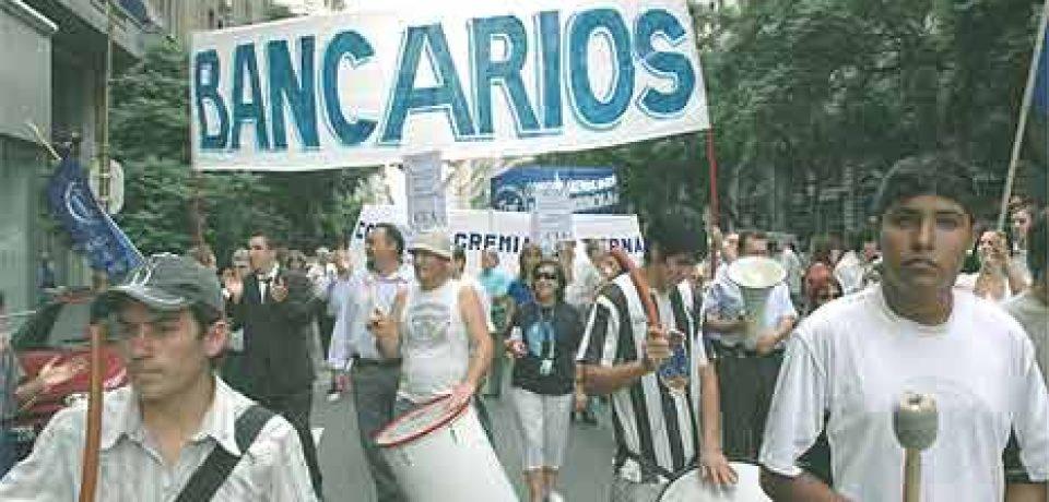 MIÉRCOLES 8, PARO BANCARIO