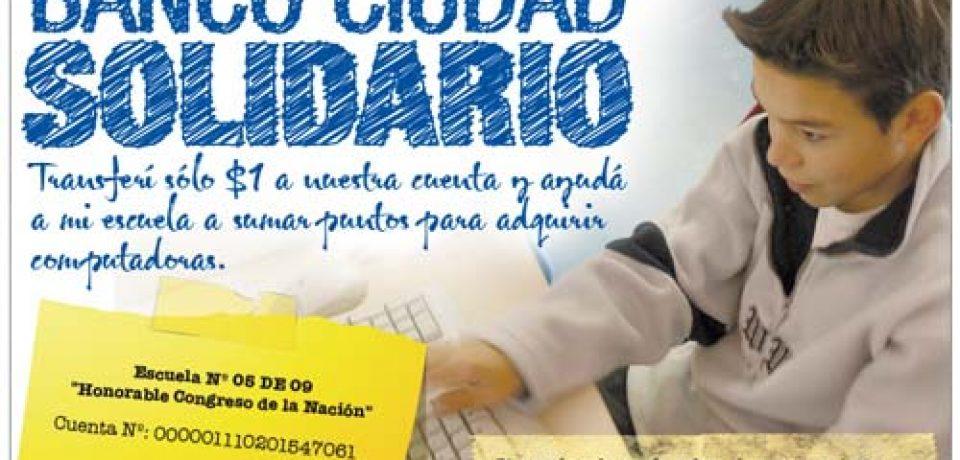 EL BANCO CIUDAD REGALA COMPUTADORAS