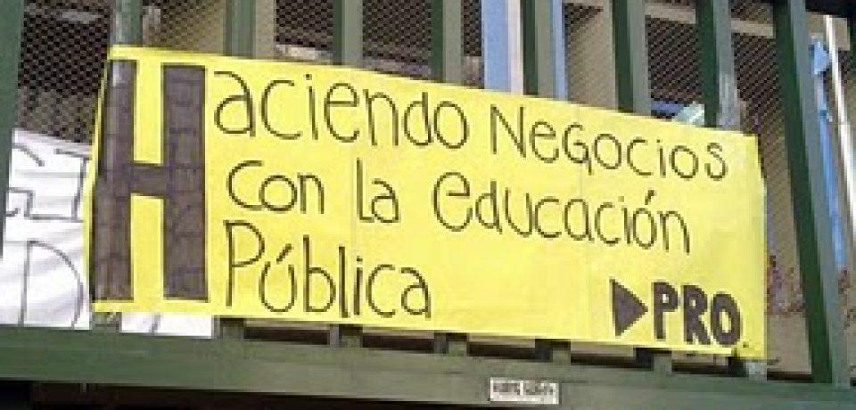 COLEGIOS TOMADOS: EL MINISTRO BULLRICH ACLARA (¿U OSCURECE?)