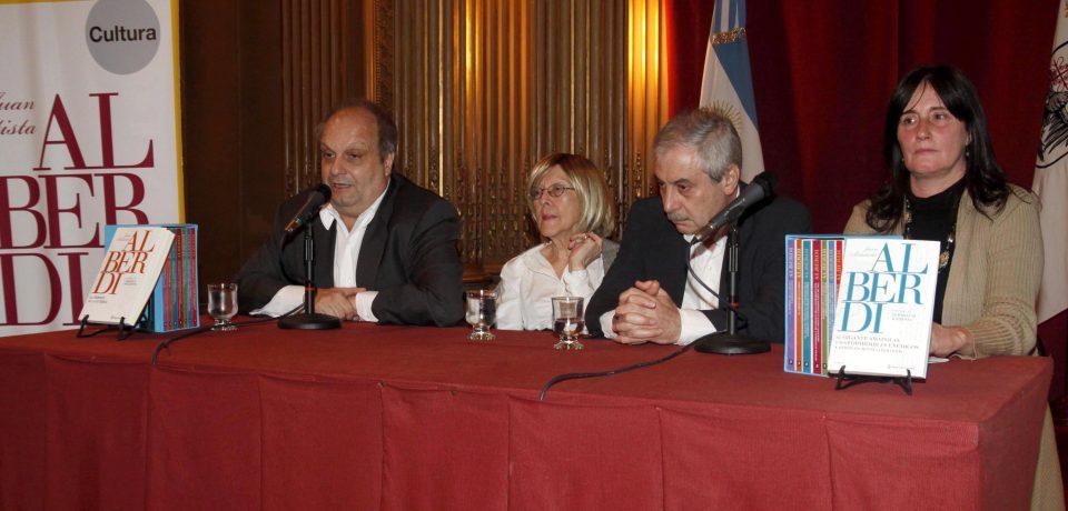 EL GOBIERNO DE LA CIUDAD Y SU HOMENAJE A ALBERDI