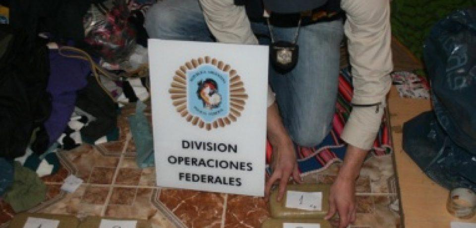 VILLA LUGANO: CAE BANDA DE NARCOTRAFICANTES