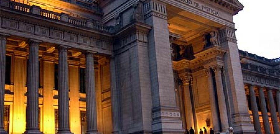 TURISMO BUENOS AIRES: TOUR AL PALACIO DE JUSTICIA