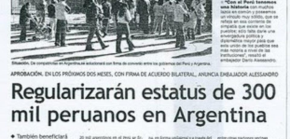 LA VERDAD DE LOS PERUANOS EN LA VILLA 1-11-14