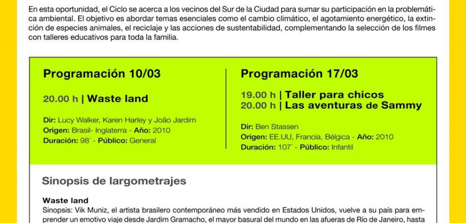 FESTIVAL DE CINE ECOLÓGICO EN EL PARQUE INDOAMERICANO