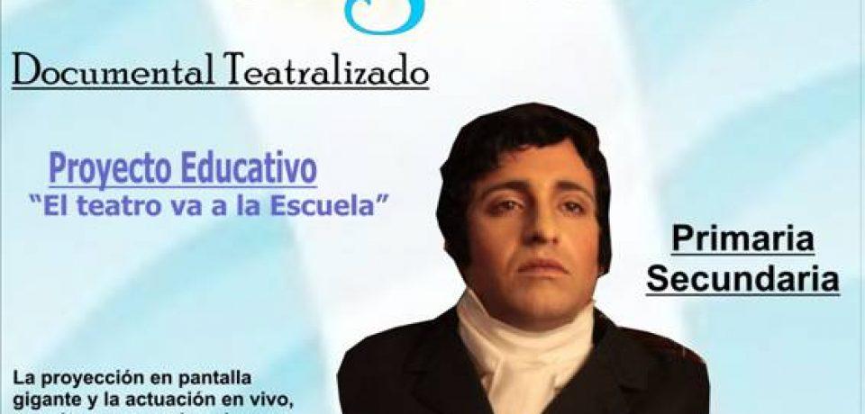 """Alternativa Educativa presenta su espectáculo """"Manuel Belgrano"""" Documental Teatralizado"""