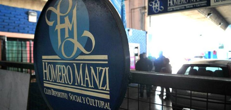 EL CLUB HOMERO MANZI A PUNTO DE CERRAR SUS PUERTAS