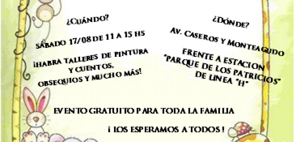 DÍA DEL NIÑO: FECOBA Y LA POLICÍA METROPOLITANA INVITAN A FESTEJAR