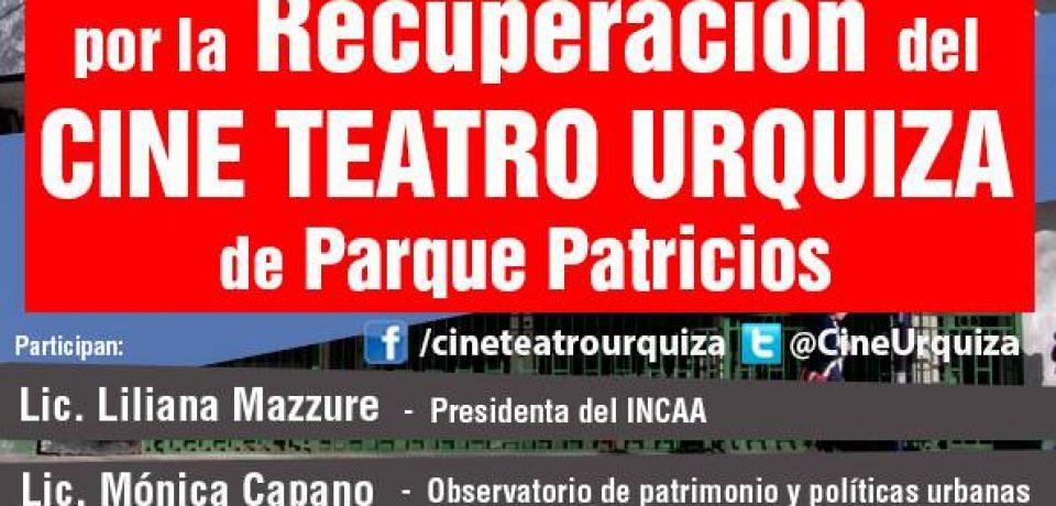 QUIEREN DEMOLER EL ANTIGUO CINE Y TEATRO URQUIZA