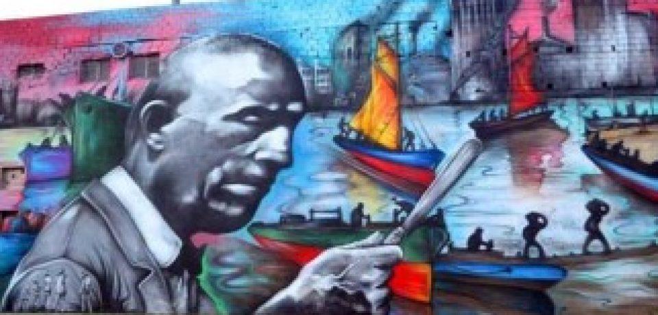 RIACHUELO: SEGATORI INAUGURA SU MURAL