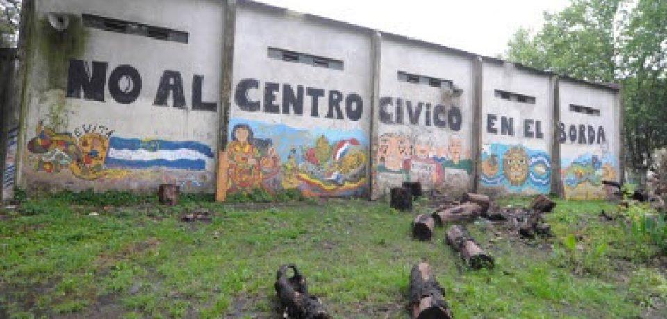 JUSTICIA PORTEÑA: NO A LA CONSTRUCCION DEL CENTRO CÍVICO EN EL BORDA