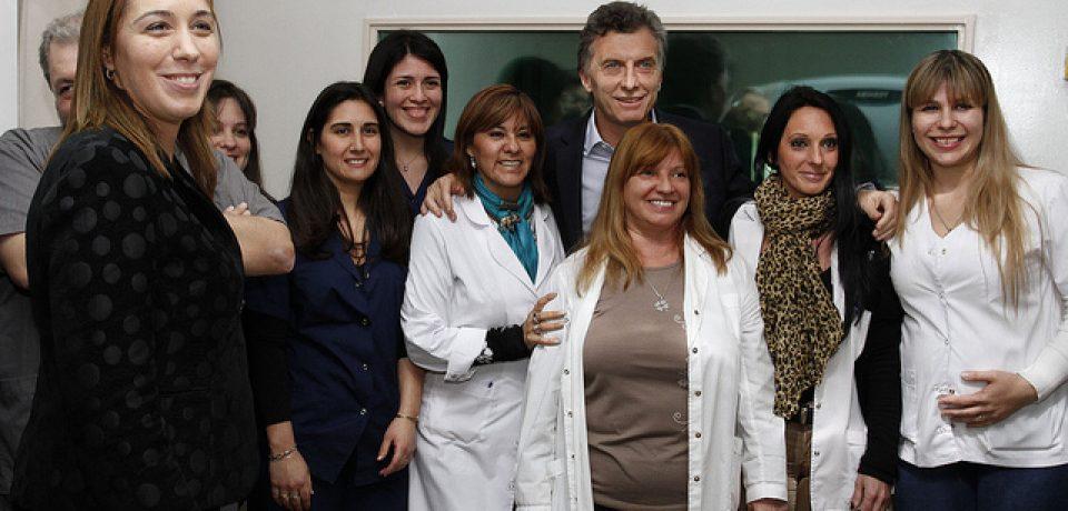 HOSPITAL PENNA: MACRI PRESENTÓ EL NUEVO TOMÓGRAFO