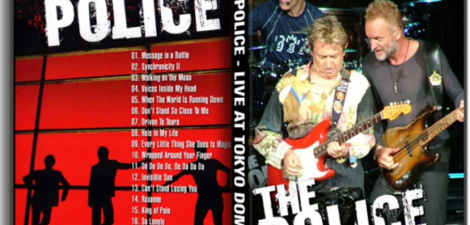The Police, live In Tokyo 2008
