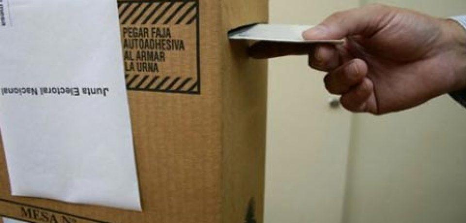 NOTICIARIO SUR LE DICE DONDE VOTA EL 27 DE OCTUBRE
