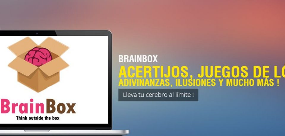 BRAINBOX: SI NO SOS INTELIGENTE NO JUGÁS