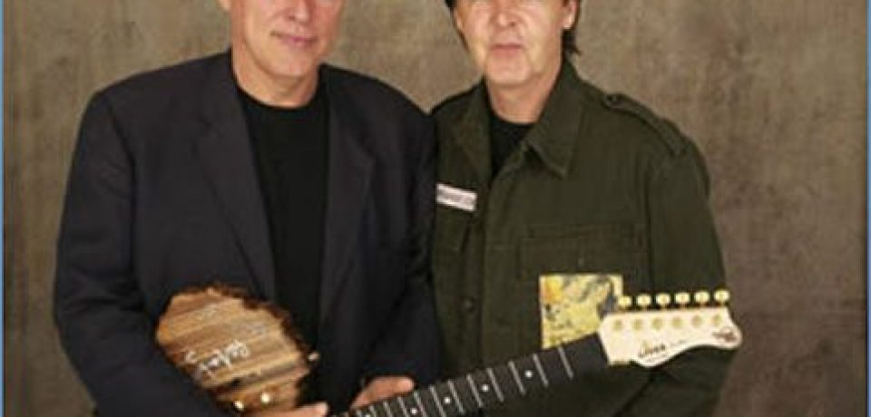PAUL McCARTNEY Y DAVID GILMOUR: EL ROCK' N' ROLL ES ETERNO