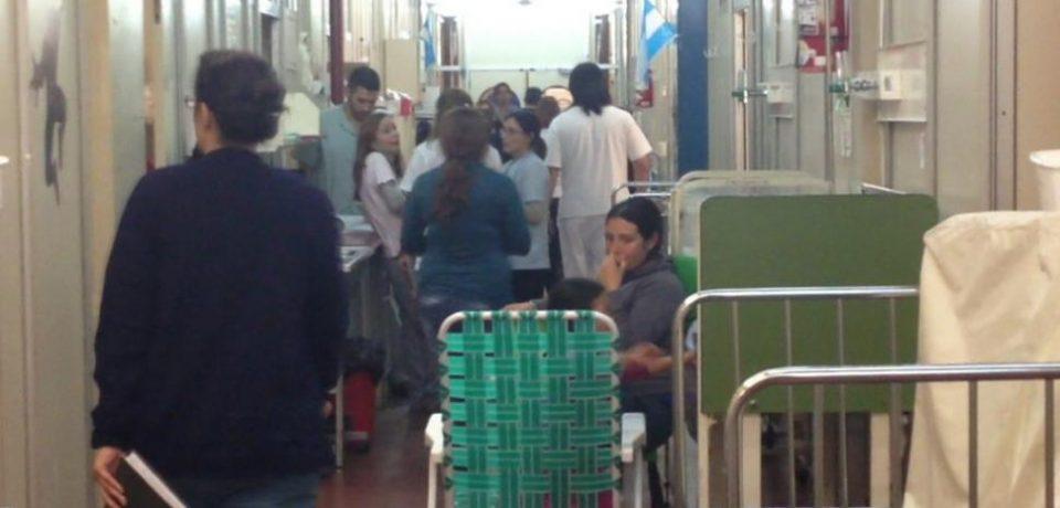 HOSPITAL GARRAHAN: DENUNCIAN HACINAMIENTO DE PACIENTES