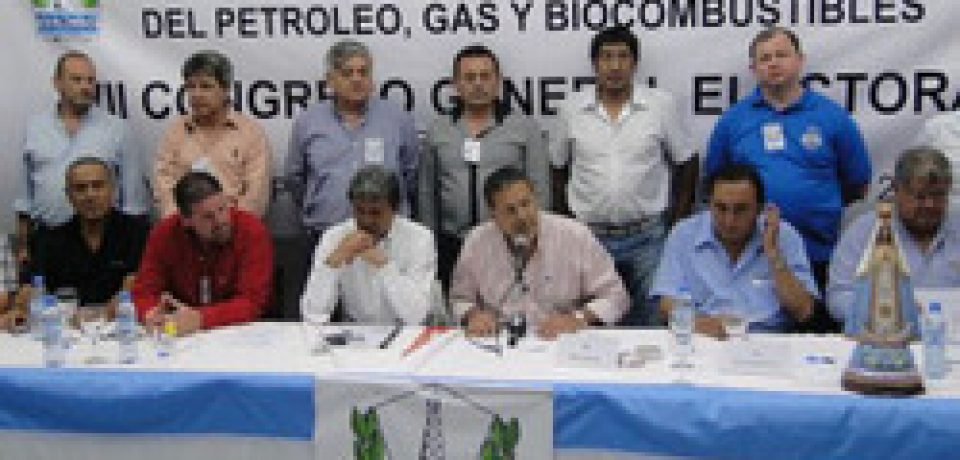 LOS TRABAJADORES DEL GAS Y DEL PETRÓLEO DE PARO