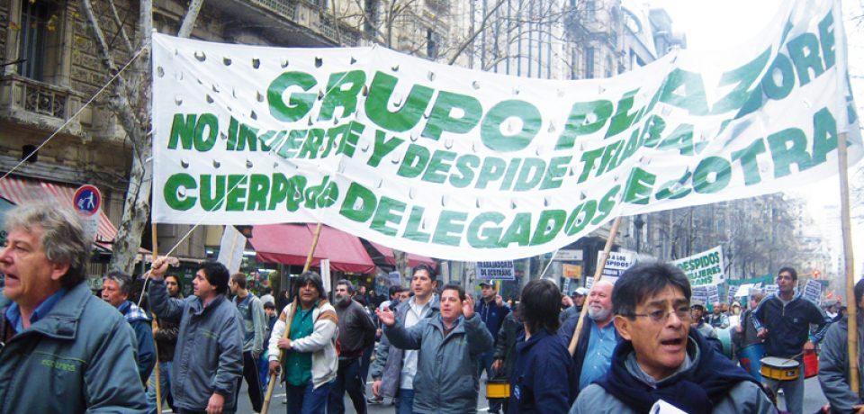 GRUPO PLAZA: LOS CIRIGLIANO ECHARON 50 CHOFERES Y HAY PARO