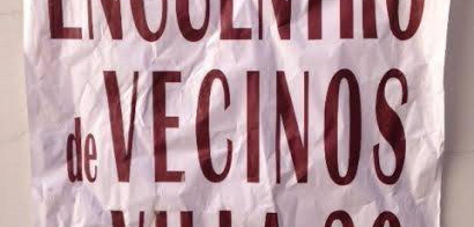 LOS VECINOS DE LA VILLA 20 Y LA CTA PIDEN POR LA URBANIZACIÓN