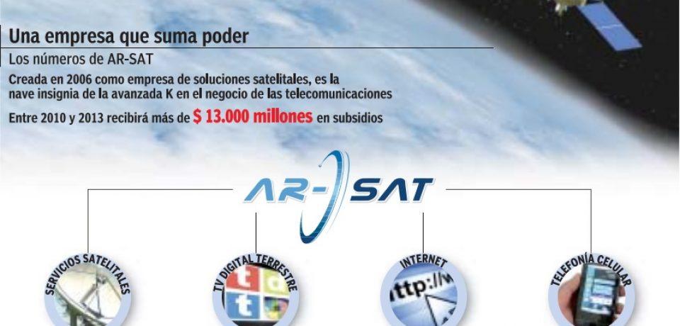 EL ARSAT-1, EN EL ESPACIO
