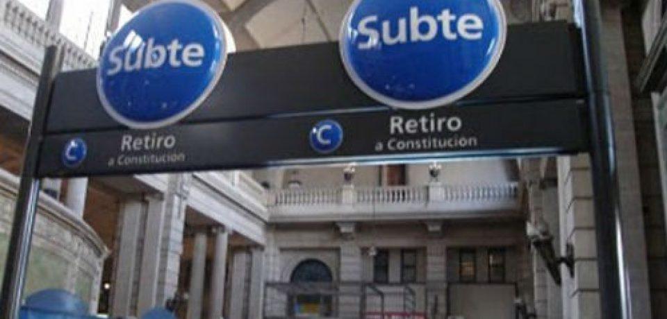 La Línea C del subte permanece cerrada
