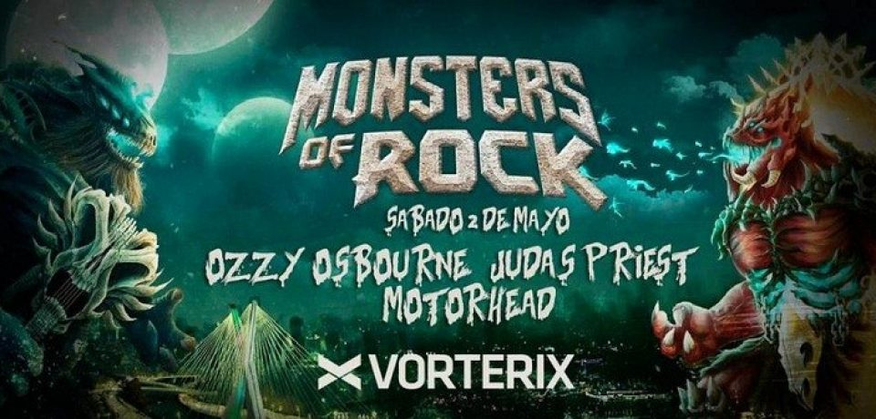 """MONSTERS OF ROCK"" REGRESA A BUENOS AIRES"