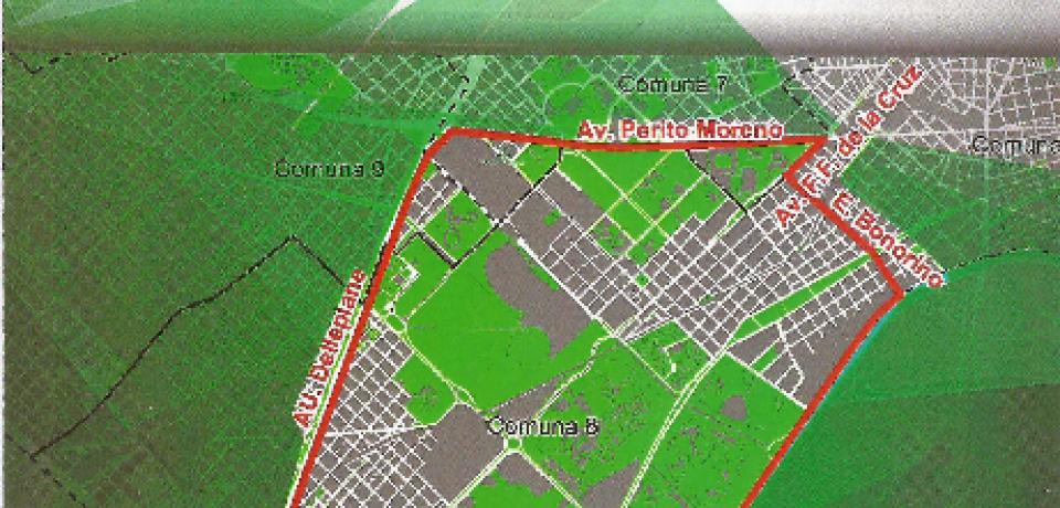 COMUNA 8: CARLOS PIROVANO PRESENTÓ LA LEY 5235 PARA EL POLO DEPORTIVO