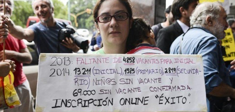VACANTES ESCOLARES 2016: ARRANCÓ CON PROBLEMAS
