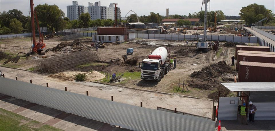 VILLA OLÍMPICA: ARRANCÓ LA CONSTRUCCIÓN