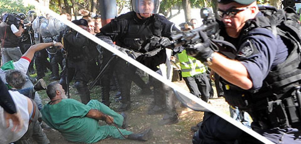 Nuevo aniversario de la represión en el Hospital Borda