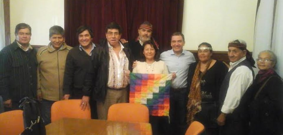 El Consejo Indigena y el Secretario de DDHH de Bs As. se encontraron para trabajar