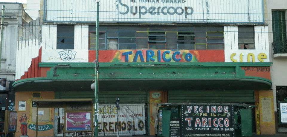Convocatoria para la recuperación del cine Taricco