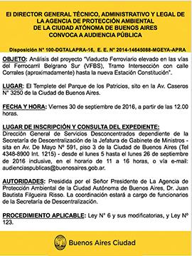 Audiencia Publica 30/09/2016