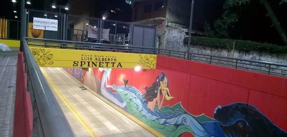 Homenaje del Gobierno de la Ciudad a Luis Alberto Spinetta