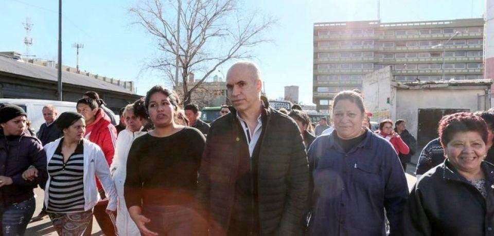 Larreta prometió la urbanización de la villa 31