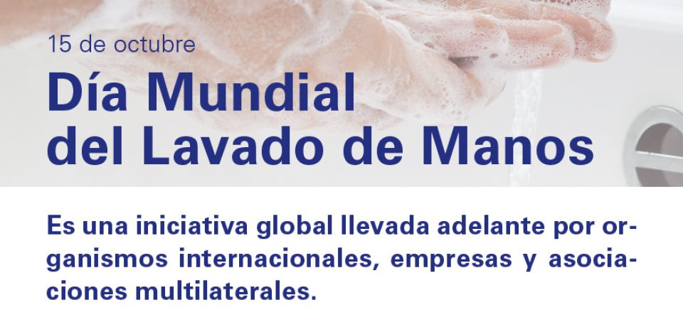 Día mundial del lavado de manos