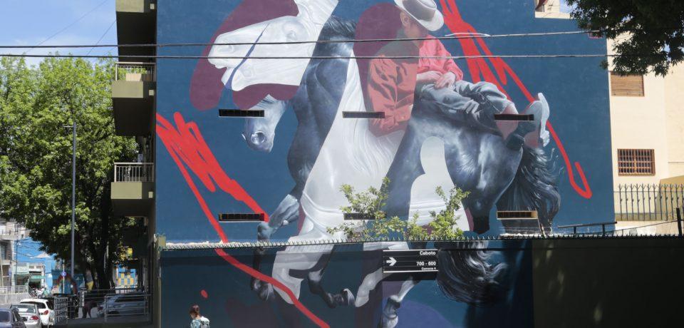 El arte en los muros de La Boca