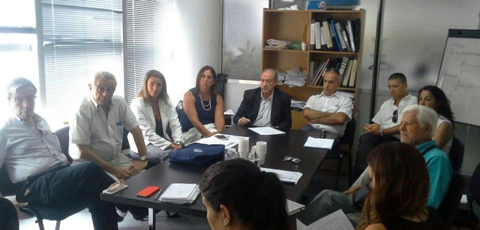 Autoridades del FECOBA se reunieron con funcionarios del PAMI