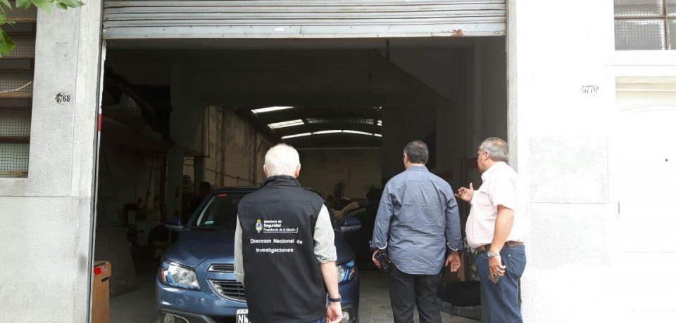 Operativo desarmaderos en Villa Lugano