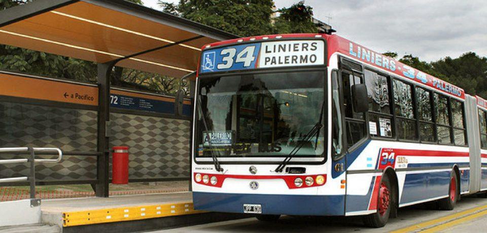 Planean extender el recorrido de la línea 34