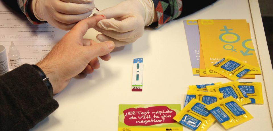 Test rápido de VIH por los barrios