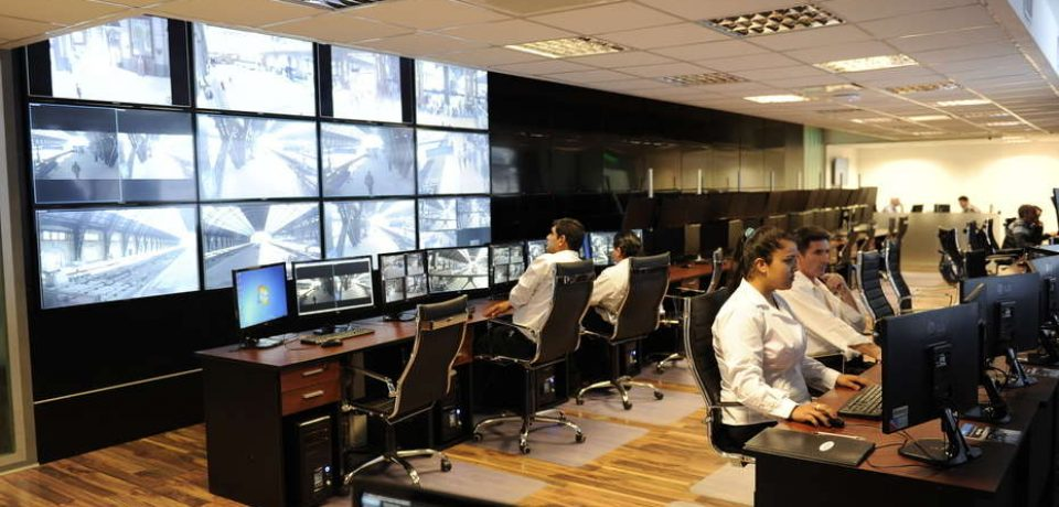 Centro de monitoreo en Retiro