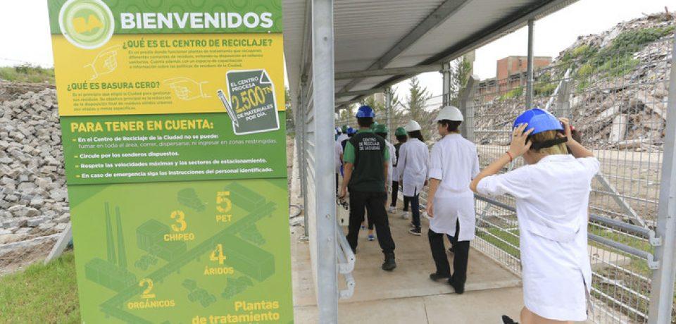 Visitá el Centro de reciclaje