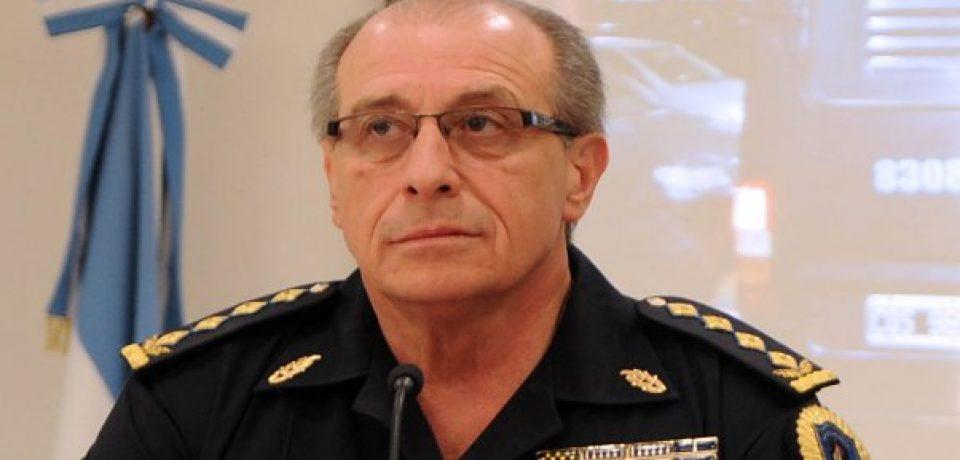 Desplazaron a un jefe de policía de la Ciudad