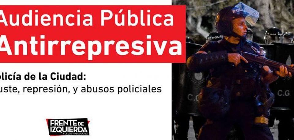 Contra la represión policial