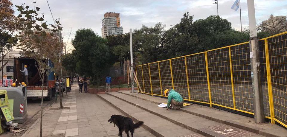 Piden informes sobre las obras en Plaza Armenia