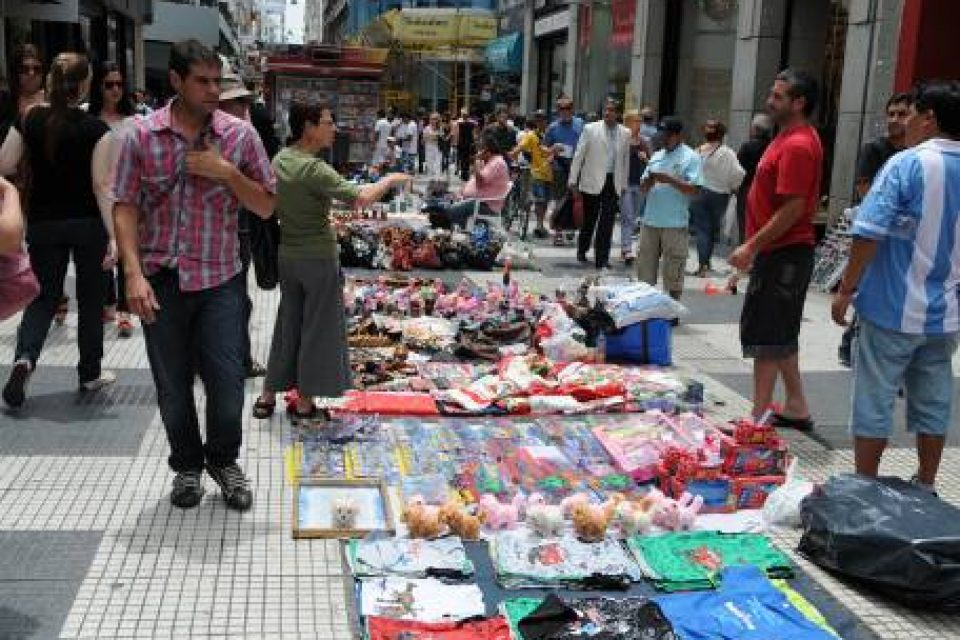 Cayó la venta callejera en la Ciudad