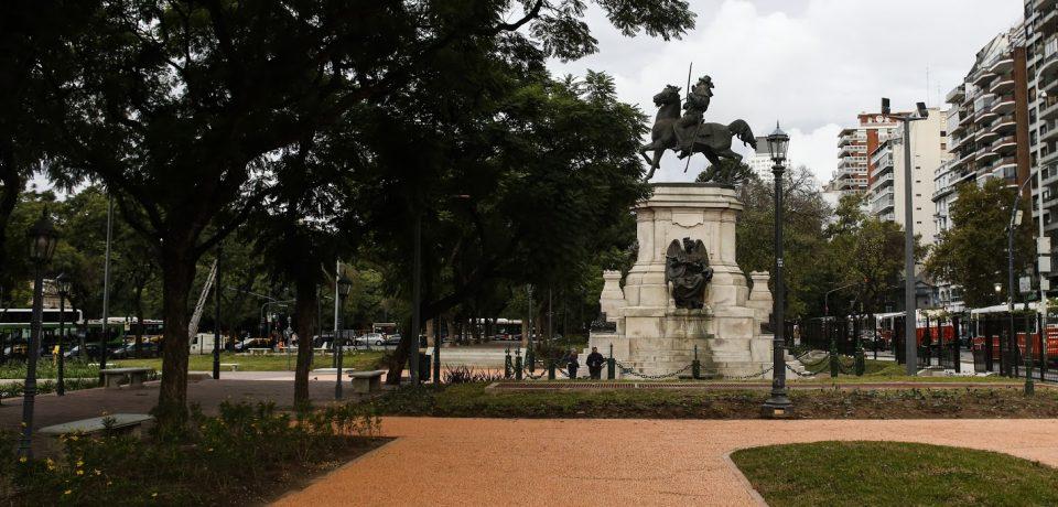 Puesta en valor de la Plaza Italia